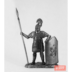 Тяжеловооруженный микенский воин. 1600 г. до н. э. DG-61