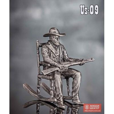 Бандит в кресле-качалке US-09