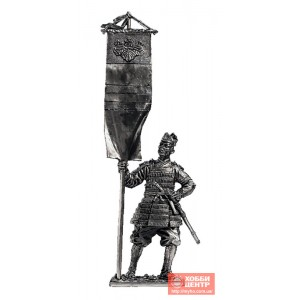 Японский воин-знаменосец, 14 век M143