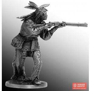 Индеец с ружьем WW-13