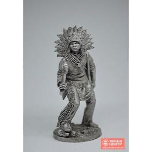 Индеец с тамагавком WW-16