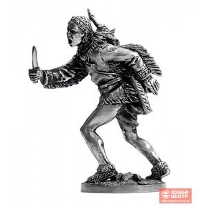 Индеец с ножом WW-18