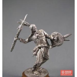 Индеец с копьем WW-9