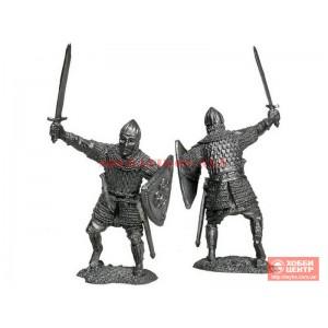 Знатный воин Владимиро-Суздальского княжества, 13 век PTS-5167b